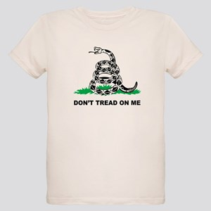 Dont Tread on Me Organic Kids T-Shirt
