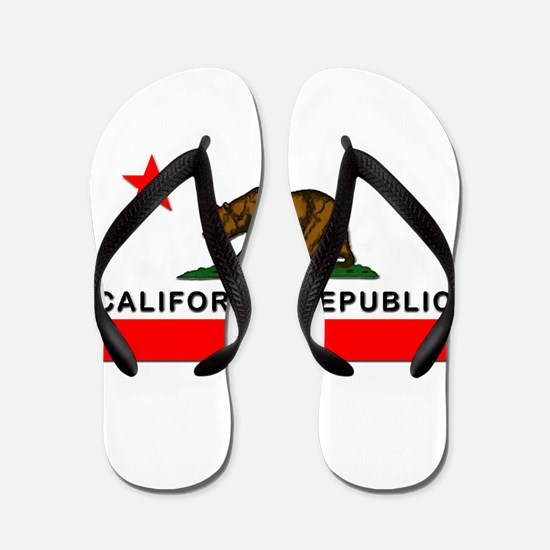 California Republic Flip Flops