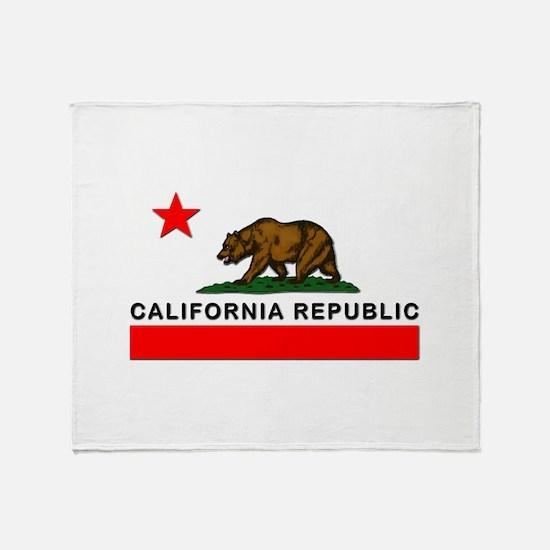 California Republic Throw Blanket