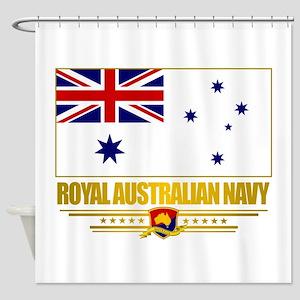 RAN Ensign (Flag 10)2 Shower Curtain