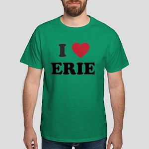 I Love Erie Pennsylvania Dark T-Shirt