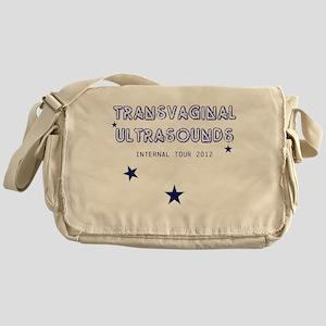 Transvaginal Ultrasounds Messenger Bag