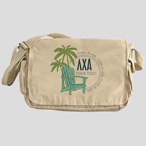 Lambda Chi Alpha Palm Chair Personal Messenger Bag