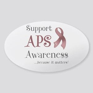 Support APS Awareness Sticker (Oval)