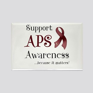 Support APS Awareness Rectangle Magnet