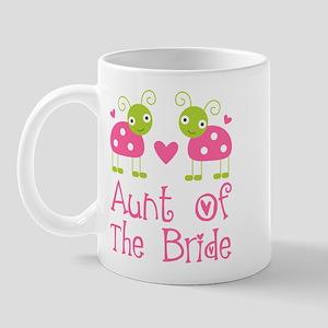 Aunt of the Bride Ladybug Mug