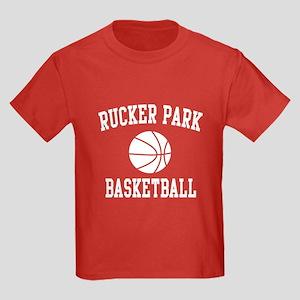 Rucker Park Basketball Kids Dark T-Shirt