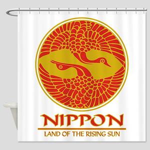 Nippon (Crane) Shower Curtain