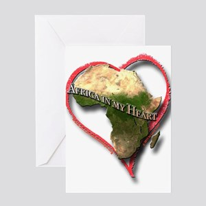 Africa in my Heart Greeting Card