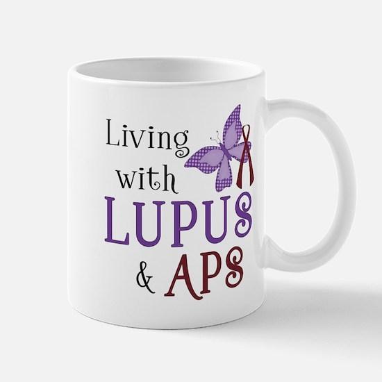 Living with Lupus APS Mug