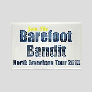 Barefoot Bandit Tour Rectangle Magnet (10 pack)