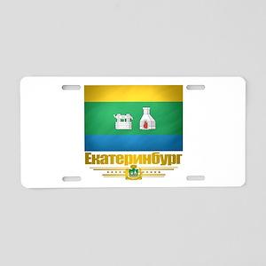 Yekaterinburg Flag Aluminum License Plate