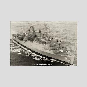 USS SPIEGEL GROVE Rectangle Magnet