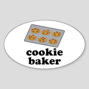 Cookie Baker Sticker (Oval)