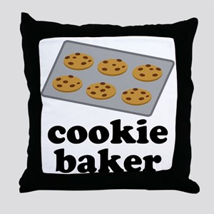 Cookie Baker Throw Pillow