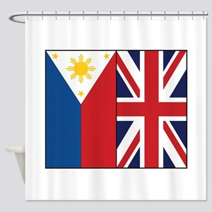 PI and UK Shower Curtain