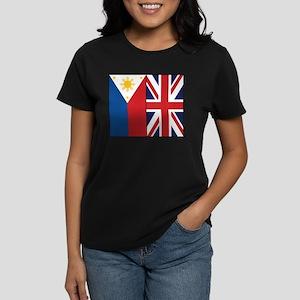 PI and UK Women's Dark T-Shirt
