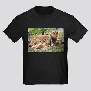 LION FAMILY Kids Dark T-Shirt
