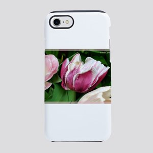 Tulips! Pink flowers! photo! iPhone 7 Tough Case