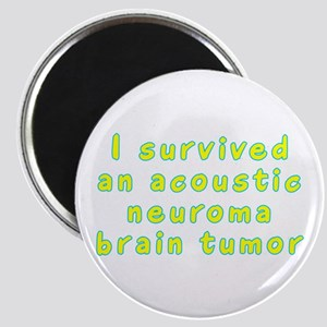 Acoustic neuroma brain tumor - Magnet