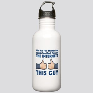 Internet Thumbs Stainless Water Bottle 1.0L