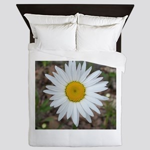 He Loves Me Daisy Queen Duvet