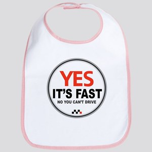 Yes It's Fast Bib