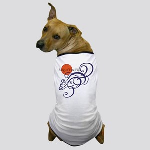 Ring of Fire Waves Dog T-Shirt