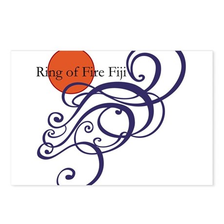 Ring of Fire Waves Postcards (Package of 8)