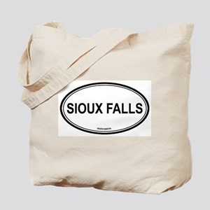 Sioux Falls (South Dakota) Tote Bag