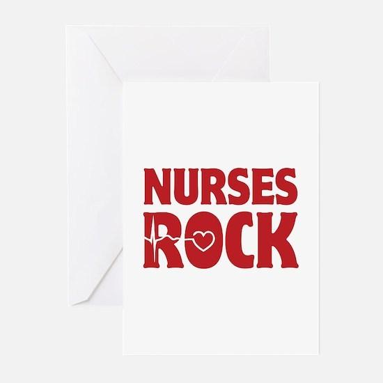 Nurses Rock Greeting Cards (Pk of 20)