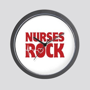 Nurses Rock Wall Clock