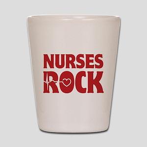 Nurses Rock Shot Glass