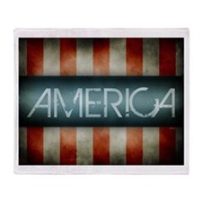 America Design Throw Blanket