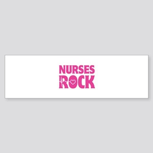 Nurses Rock Sticker (Bumper)