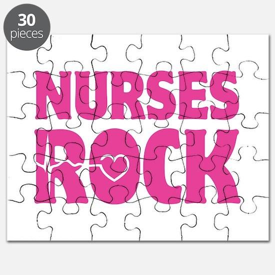 Nurses Rock Puzzle