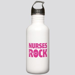 Nurses Rock Stainless Water Bottle 1.0L