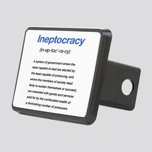 Ineptocracy Definition Rectangular Hitch Cover