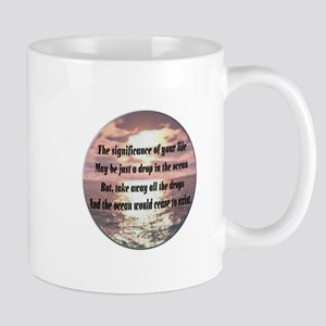 A drop in the ocean Mug
