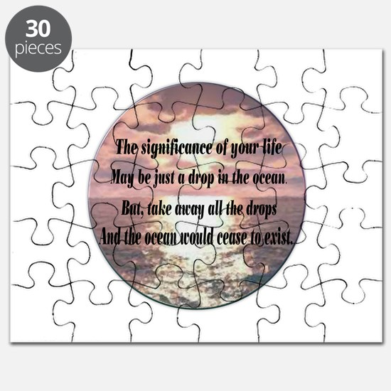 A drop in the ocean Puzzle