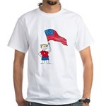 American Boy White T-Shirt