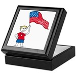 American Boy Keepsake Box