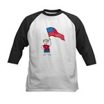 American Boy Kids Baseball Jersey