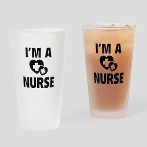 I'm A Nurse Drinking Glass