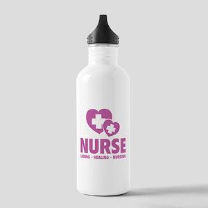 Nurse - Caring Healing Nursing Stainless Water Bot