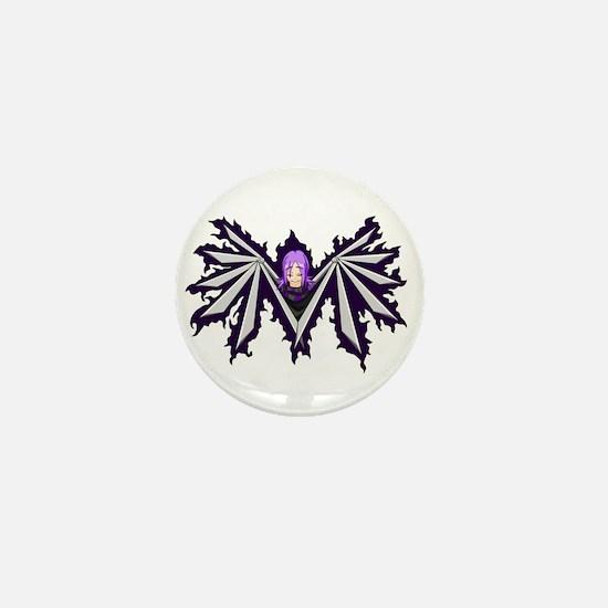 Winged Inu Mini Button