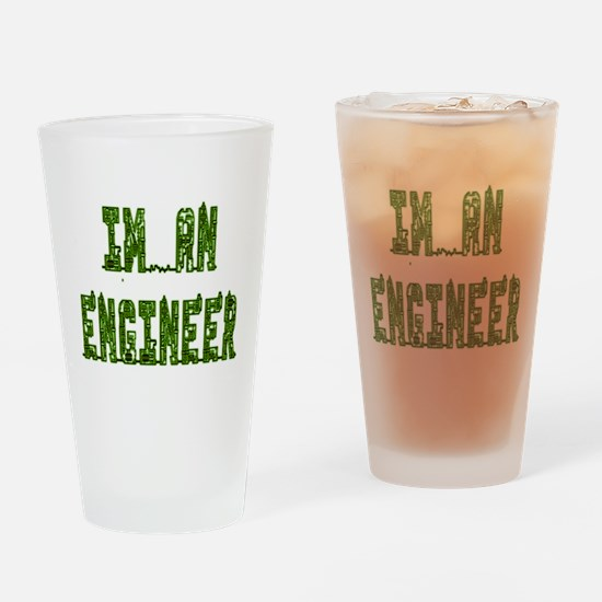I'm an Engineer Drinking Glass