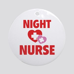Night Nurse Ornament (Round)