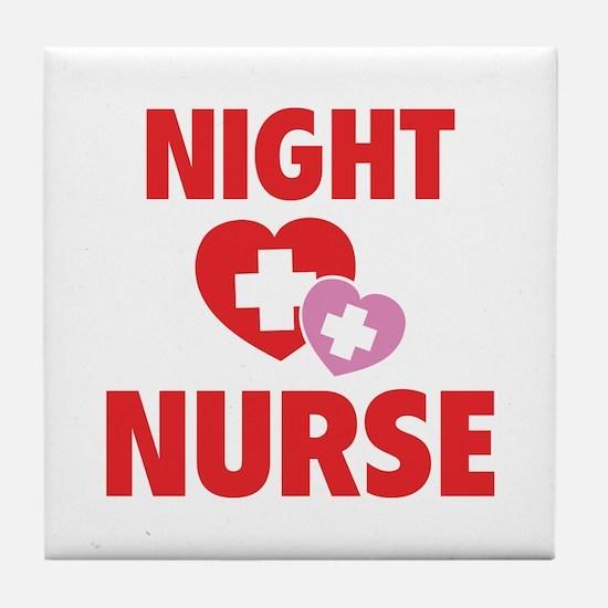 Night Nurse Tile Coaster