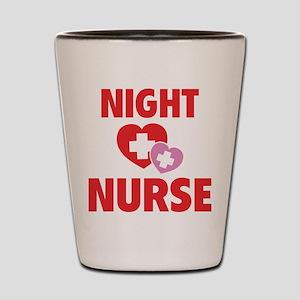 Night Nurse Shot Glass